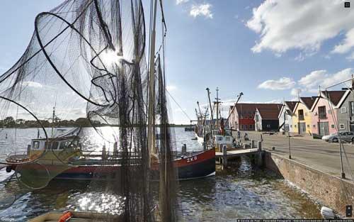 Vissersboten Zoutkamp