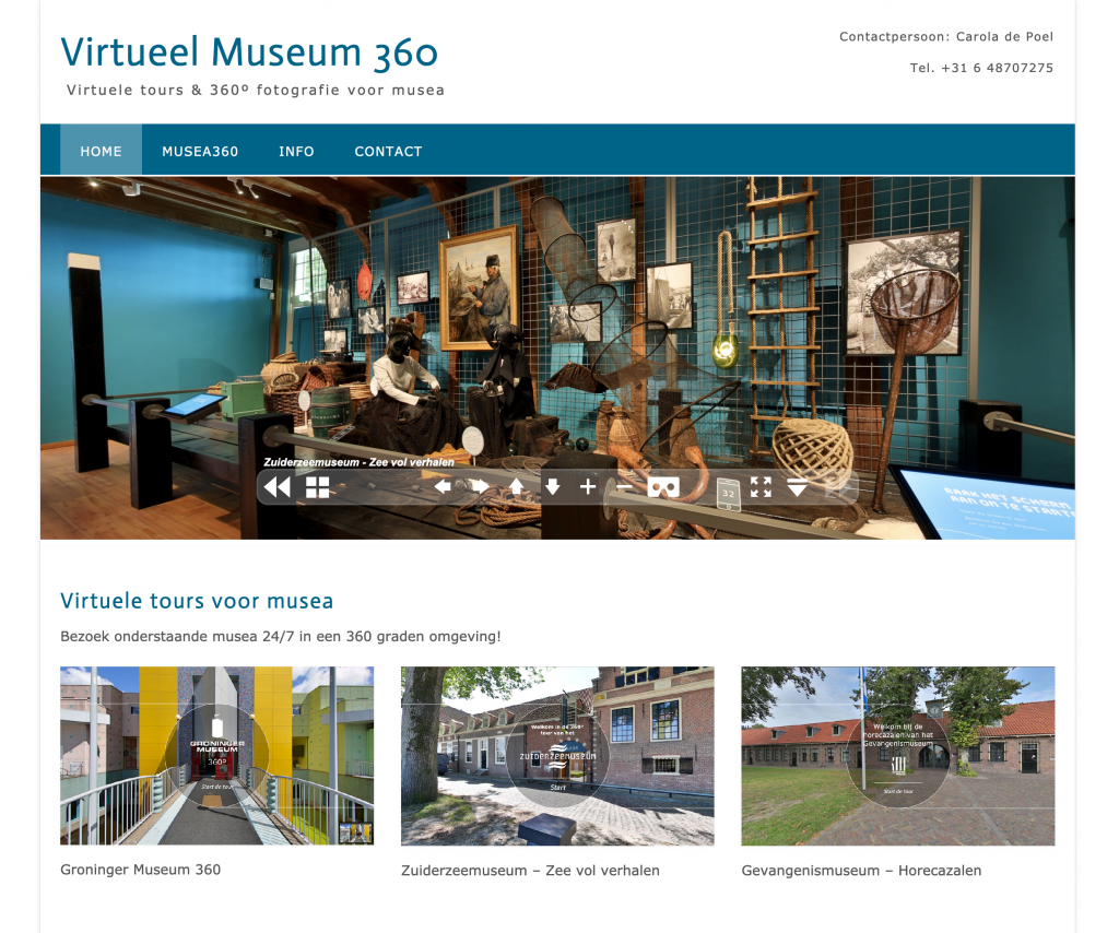 Virtuele tours van musea